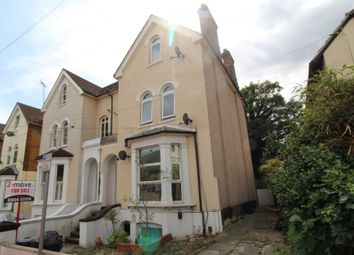 Thumbnail 1 bed flat for sale in Vicarage Road, Rochester, Kent