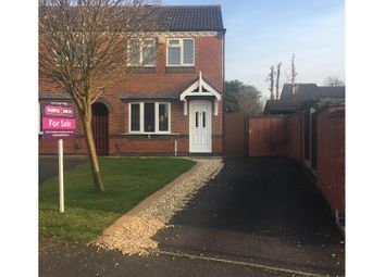 Thumbnail 2 bed end terrace house for sale in Marlborough Way, Newdale Telford