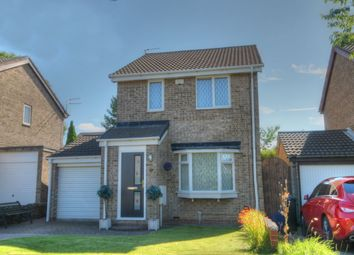 Thumbnail 3 bed detached house for sale in Nile Close, Lemington Rise, Newcastle Upon Tyne