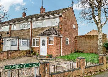Thumbnail 3 bed end terrace house for sale in Barton Road, Tilehurst, Reading, Berkshire