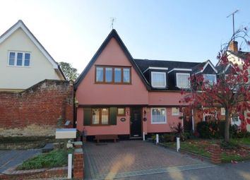 Thumbnail 2 bed end terrace house for sale in Hadleigh, Ipswich, Suffolk
