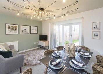 "Thumbnail 3 bedroom terraced house for sale in ""Cannington"" at Danegeld Avenue, Great Denham, Bedford"
