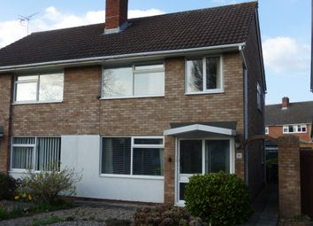 Thumbnail 3 bed semi-detached house for sale in Derwent Drive, Hereford