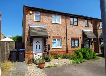 Thumbnail 2 bed semi-detached house for sale in Coalport Close, Harlow, Essex