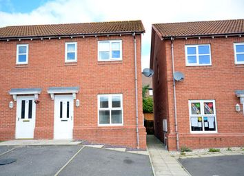 Thumbnail 3 bed semi-detached house for sale in Meadow Court, Tow Law, Bishop Auckland