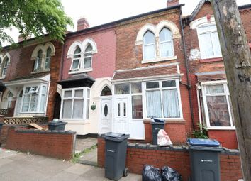 Thumbnail 3 bed terraced house for sale in Clarence Road, Handsworth, West Midlands