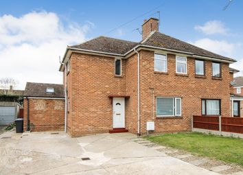 Thumbnail 3 bed semi-detached house for sale in Joyce Road, Bungay
