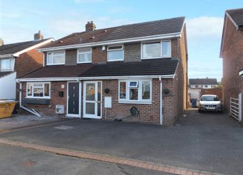 Thumbnail 4 bed semi-detached house for sale in Cedar Road, Barton Under Needwood, Burton-On-Trent