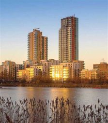 Thumbnail 3 bed flat for sale in Riverside Apartments, Finsbury Park, London