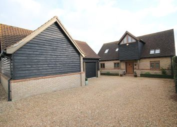 Thumbnail 4 bed detached house for sale in Cannon Street, Little Downham, Ely