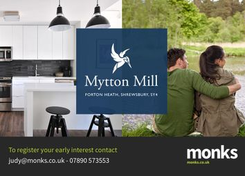 Thumbnail 3 bed flat for sale in Apartment 5, Mytton Mill, Forton Heath, Shrewsbury