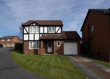 Thumbnail 3 bed detached house for sale in Ainsley Grove, Darlington, County Durham