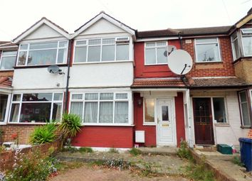 Thumbnail 3 bed terraced house to rent in Jubilee Road, Perivale, Greenford, Greater London