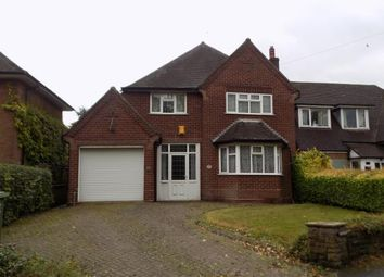 Thumbnail 3 bed detached house for sale in Coventry Road, Coleshill, Birmingham, .