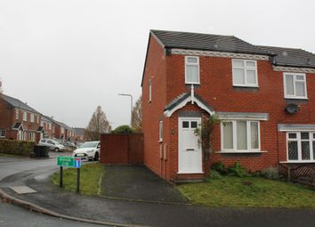 Thumbnail 3 bed semi-detached house for sale in Grainger Close, Tipton