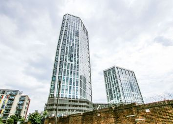Thumbnail 3 bed flat for sale in Sky View Tower, Stratford