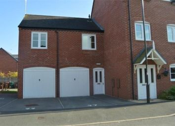Thumbnail 1 bed flat to rent in Foss Road, Hilton, Derby