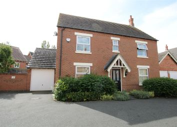 Thumbnail 4 bed detached house for sale in Glengarry Way, Greylees, Sleaford