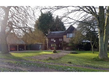 Thumbnail 4 bed detached house for sale in Roe Green, Buntingford