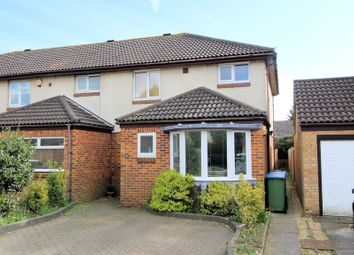 Thumbnail 3 bedroom end terrace house for sale in Stonecrop Close, Locks Heath, Southampton