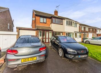 Thumbnail 3 bed semi-detached house for sale in Magness Crescent, Willenhall, West Midlands