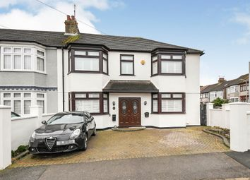Thumbnail 4 bed end terrace house for sale in Thameshill Avenue, Romford