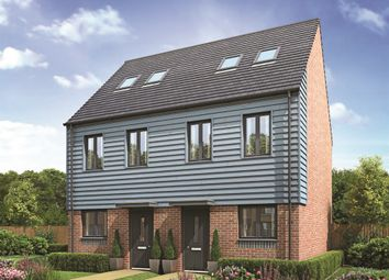 "Thumbnail 3 bed town house for sale in ""The Moseley"" at Lawley Drive, Lawley, Telford"