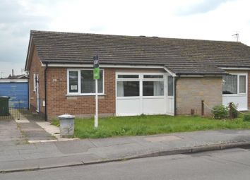 Thumbnail 2 bed semi-detached bungalow for sale in Gladstone Street, Hathern, Leicestershire