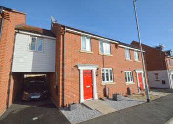 Thumbnail 3 bed link-detached house for sale in Lord Nelson Drive, New Costessey, Norwich