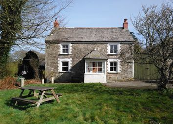 Thumbnail 4 bed detached house to rent in Coombe Lane, St Breward