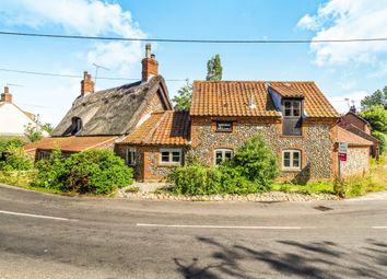 Thumbnail 3 bedroom property for sale in The Street, Thornage, Holt