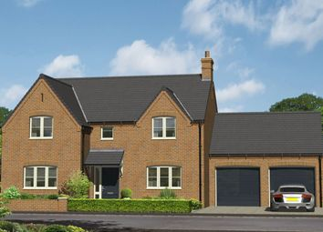 Thumbnail 4 bed detached house for sale in Off Repton Road, Willington, Derby
