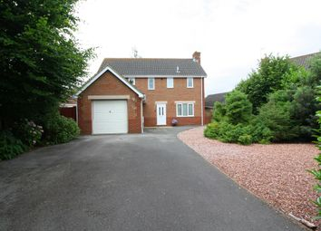 Thumbnail 4 bed detached house for sale in Harp Chase, Taunton