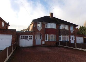 Thumbnail 3 bedroom semi-detached house for sale in Frederick Road, Selly Oak, Birmingham, West Midlands