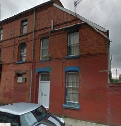 Thumbnail 1 bed flat to rent in Talton Road, Liverpool