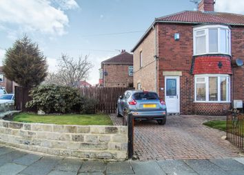 Thumbnail 2 bed semi-detached house for sale in Holderness Road, Wallsend