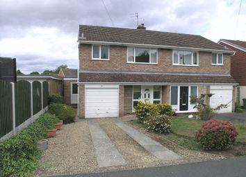 Thumbnail 3 bed semi-detached house for sale in Stourbridge, Norton, Leavale Road