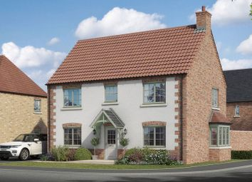 Thumbnail 4 bed detached house for sale in The Owmby, Lodge Lane, Nettleham