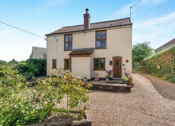 Thumbnail 3 bedroom detached house for sale in Church Road, Great Plumstead, Norwich