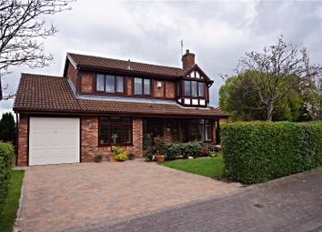 Thumbnail 4 bed detached house for sale in Eanleywood Lane, Runcorn