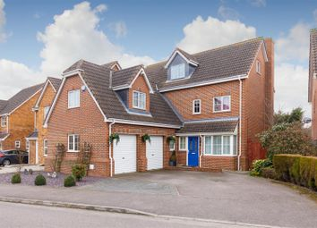 Thumbnail 5 bed detached house for sale in Station Close, Henlow