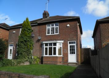 Thumbnail 3 bedroom semi-detached house to rent in Somercotes Hill, Somercotes, Alfreton