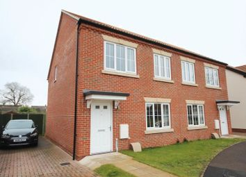 Thumbnail 2 bed semi-detached house to rent in Park View, Horsford, Norwich