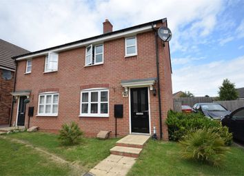 Thumbnail 3 bed semi-detached house for sale in Teeswater Close, Long Lawford, Rugby, Warwickshire