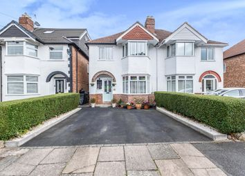 Thumbnail 3 bed semi-detached house for sale in Hilton Avenue, Hall Green, Birmingham