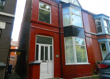 Thumbnail 5 bed terraced house to rent in Colebrooke Road, Aigburth, Liverpool