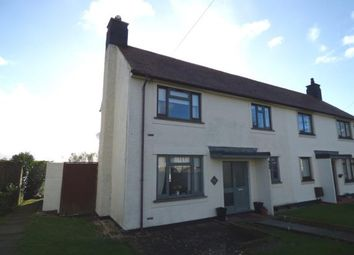 Thumbnail 2 bed semi-detached house for sale in Minffordd Road, Caergeiliog, Holyhead, Sir Ynys Mon