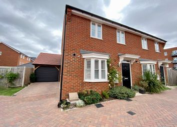 Thumbnail 3 bed semi-detached house for sale in Rosina Grove, Castle Hill, Ebbsfleet Valley, Swanscombe