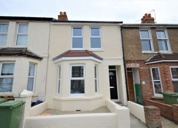 Thumbnail 2 bedroom terraced house to rent in Albert Road, Folkestone, Kent