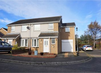 Thumbnail 4 bed semi-detached house for sale in Warkworth Drive, Morpeth